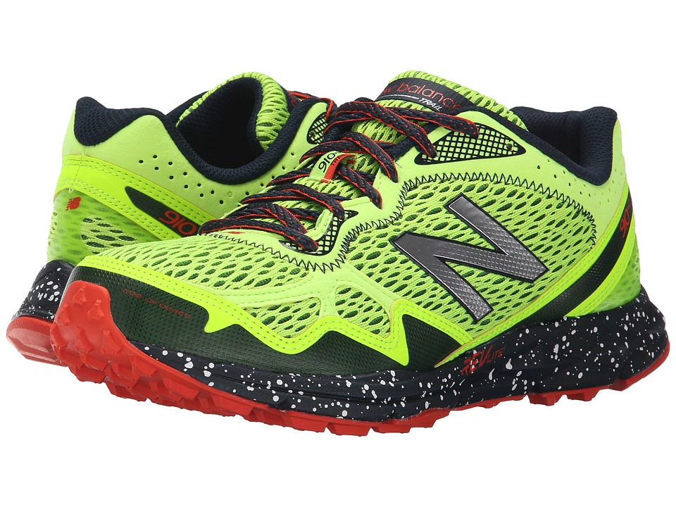 New Balance - MT910 (Green/Red) Men's Running Shoes