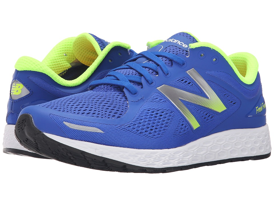 New Balance - Fresh Foam Zante V2 (Blue/Green) Men's Running Shoes