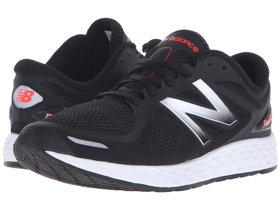 New Balance - Fresh Foam Zante V2 (Black/Silver) Men's Running Shoes