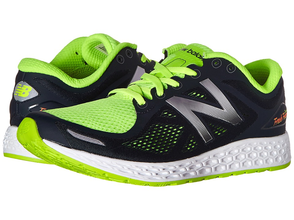 New Balance - Fresh Foam Zante V2 (Black/Green) Men's Running Shoes