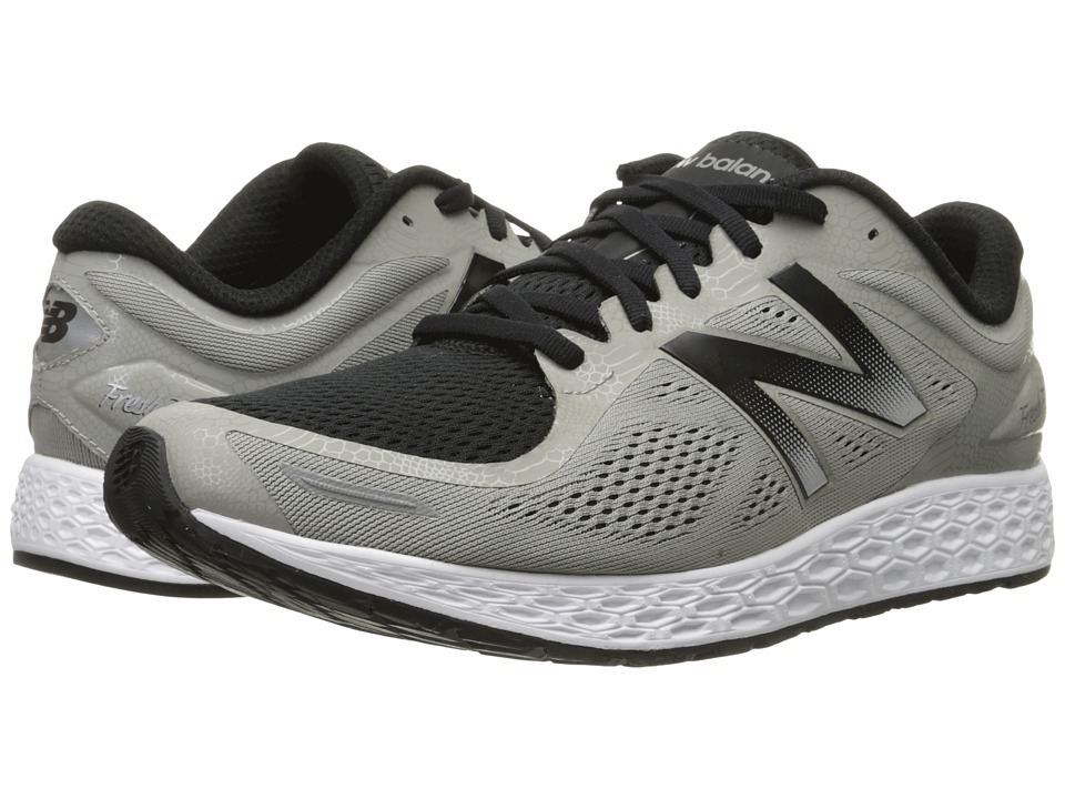 New Balance - Fresh Foam Zante v2 Team (Silver/Black) Men's Running Shoes