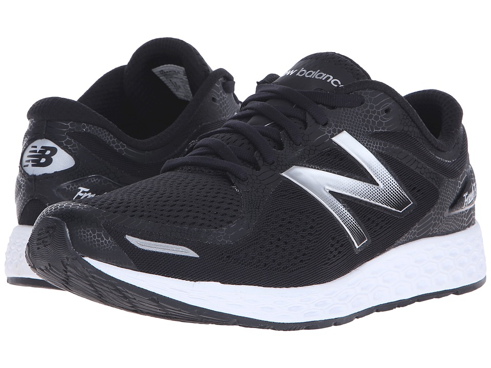 New Balance - Fresh Foam Zante v2 Team (Black/Silver) Men's Running Shoes