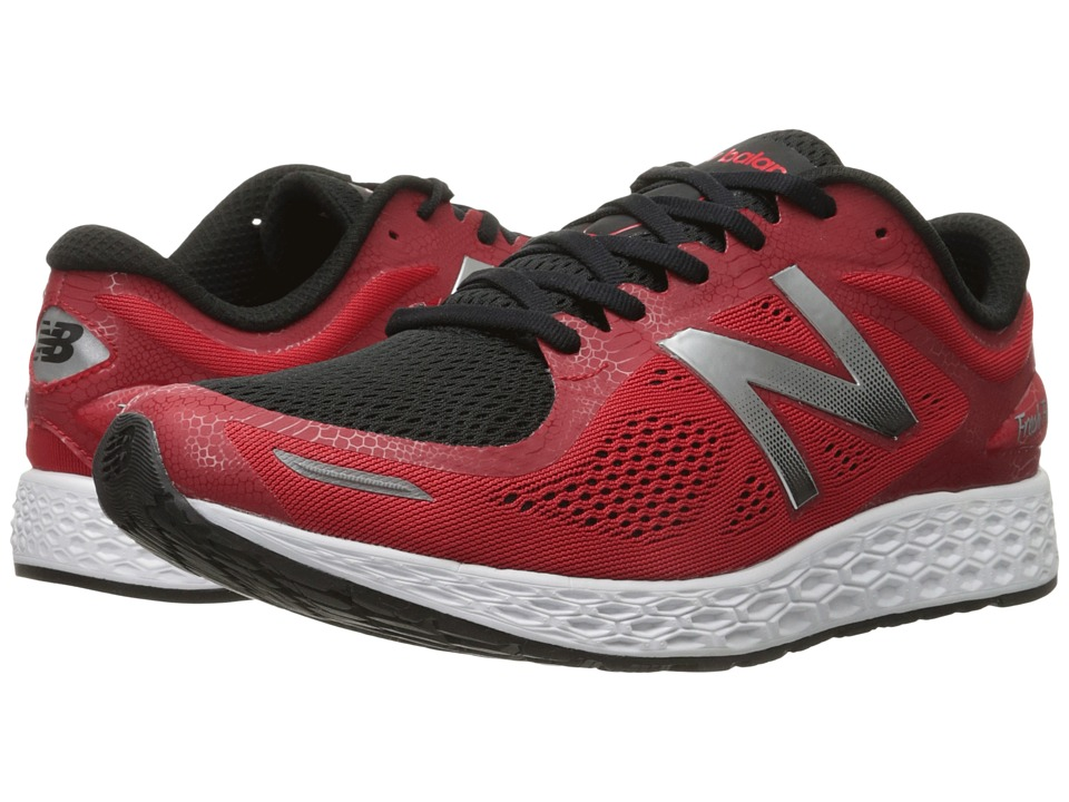New Balance - Fresh Foam Zante v2 Team (Red/Silver) Men's Running Shoes