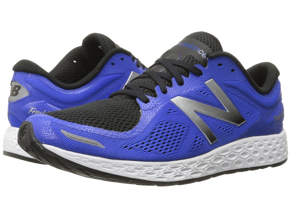 New Balance - Fresh Foam Zante v2 Team (Blue/Silver) Men's Running Shoes
