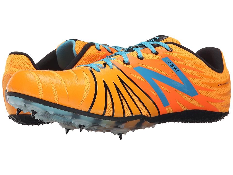 New Balance - USD100 (Orange/Blue) Men's Running Shoes