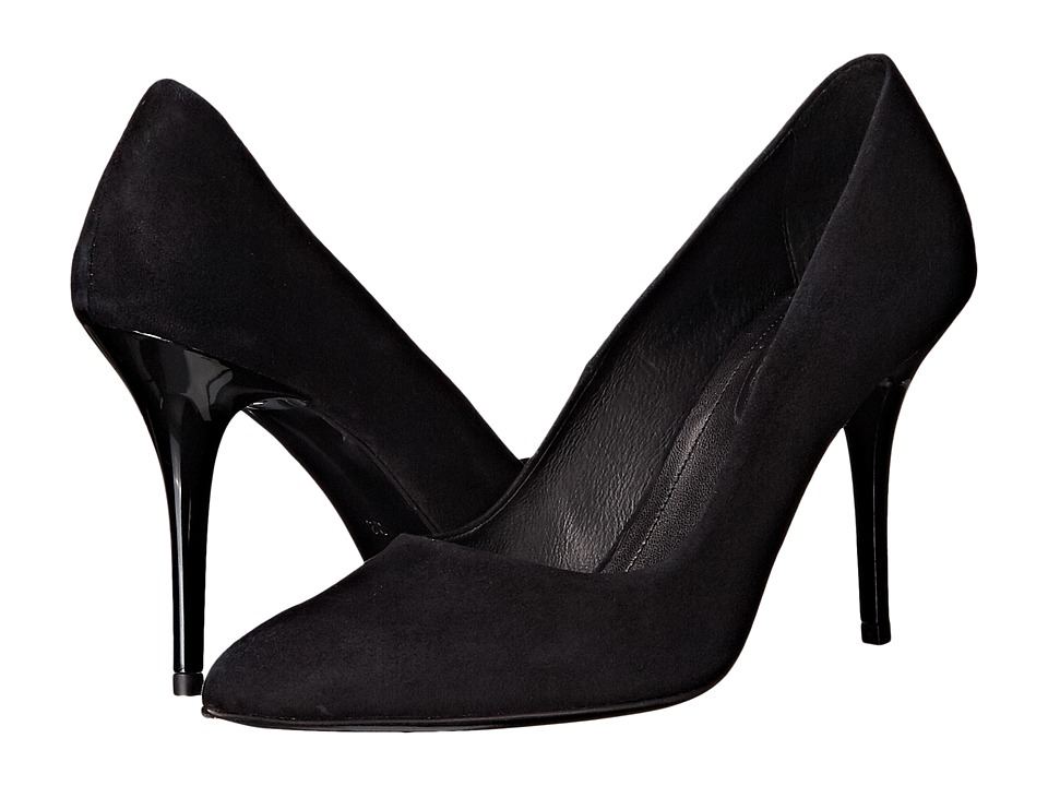 The Kooples - Suede Leather (Black) High Heels