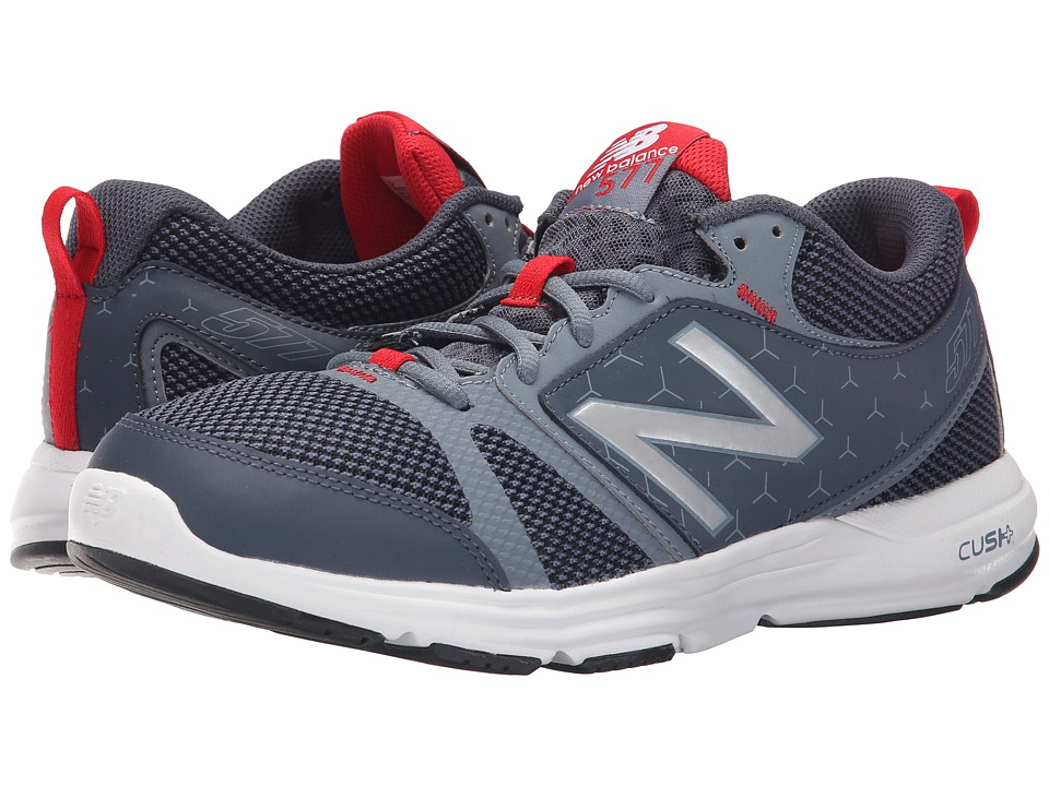 New Balance - M577v4 (Grey/Red) Men