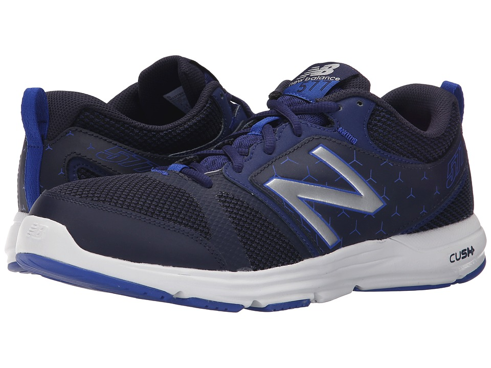 New Balance - M577v4 (Navy/Silver) Men's Shoes