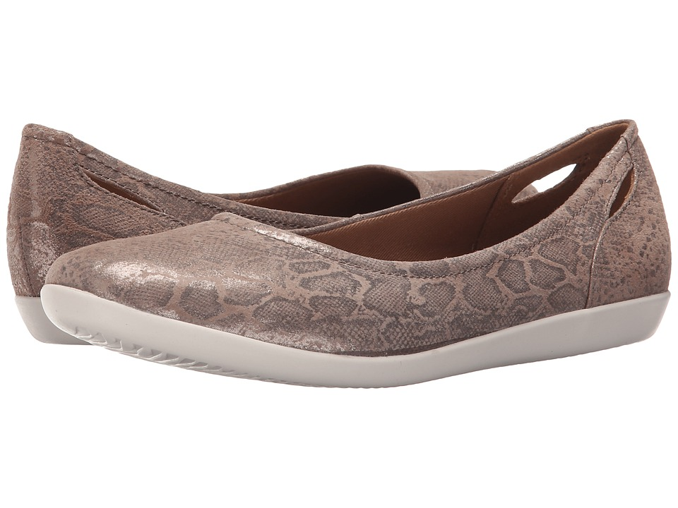Clarks Helina Alessia (Pebble Suede) Women