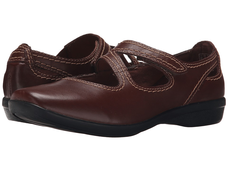 Clarks - Haydn Pond (Brown Leather) Women