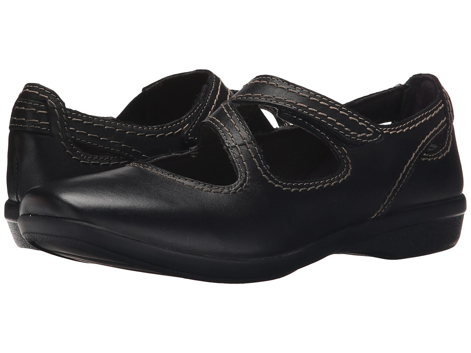 Clarks - Haydn Pond (Black Leather) Women's Shoes