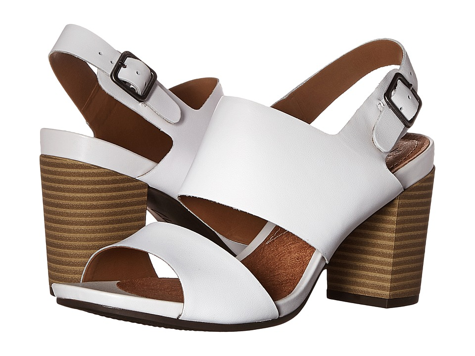 Clarks - Banoy Tulia (White Leather) High Heels