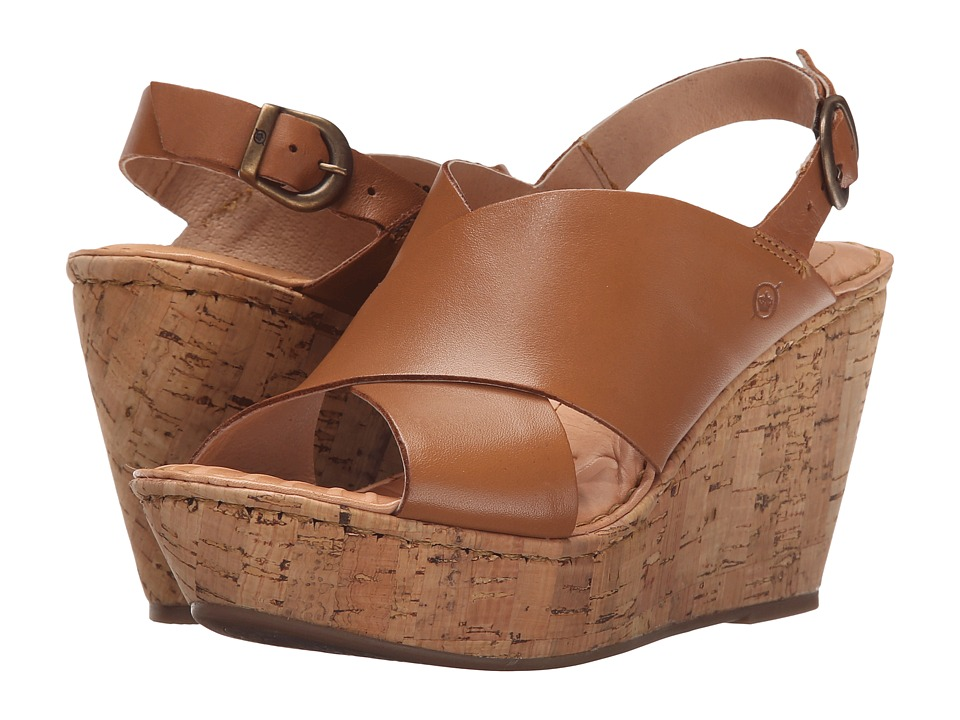 Born - Emmy (Tan 2) Women's Wedge Shoes