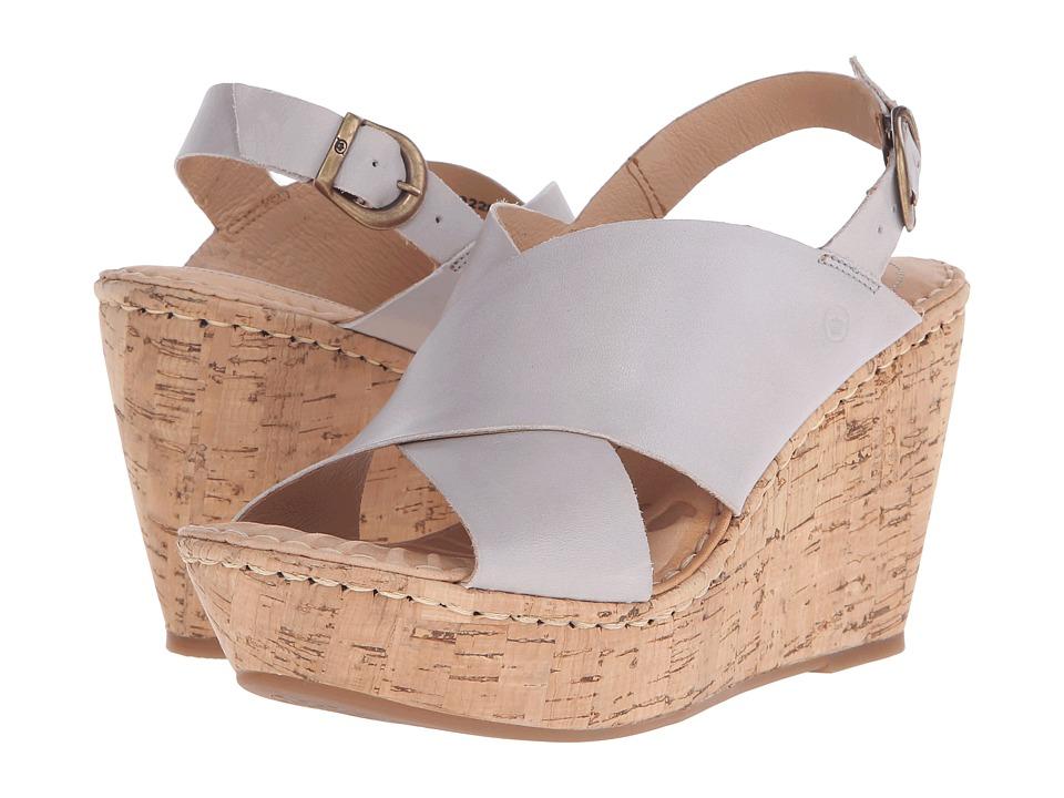 Born - Emmy (Light Grey) Women's Wedge Shoes