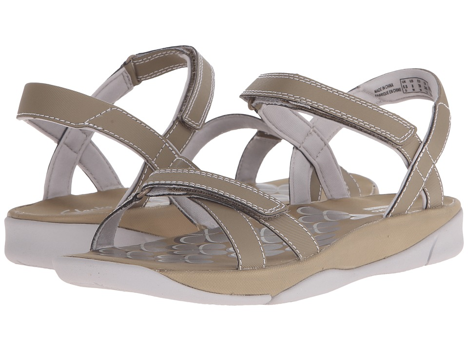 Clarks - Tresca Trace (Greystone Synthetic) Women's Sandals