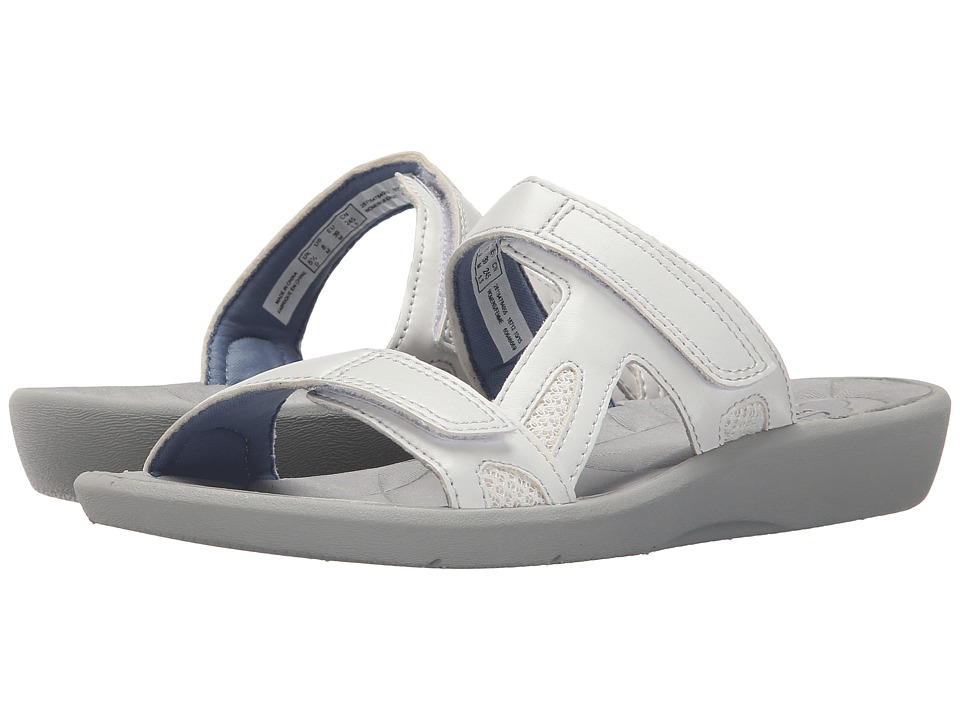 Clarks - Sillian Wonder (White Synthetic) Women