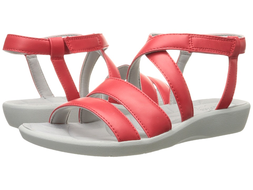 Clarks - Sillian Spade (Red Synthetic) Women's Sandals
