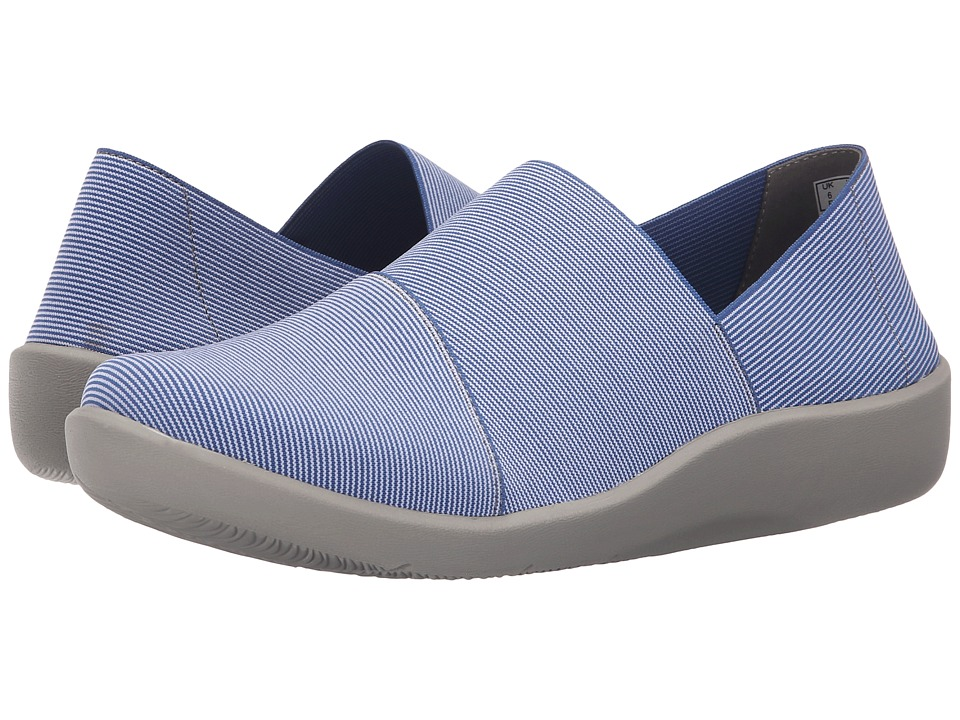 Clarks - Sillian Firn (Blue Synthetic) Women