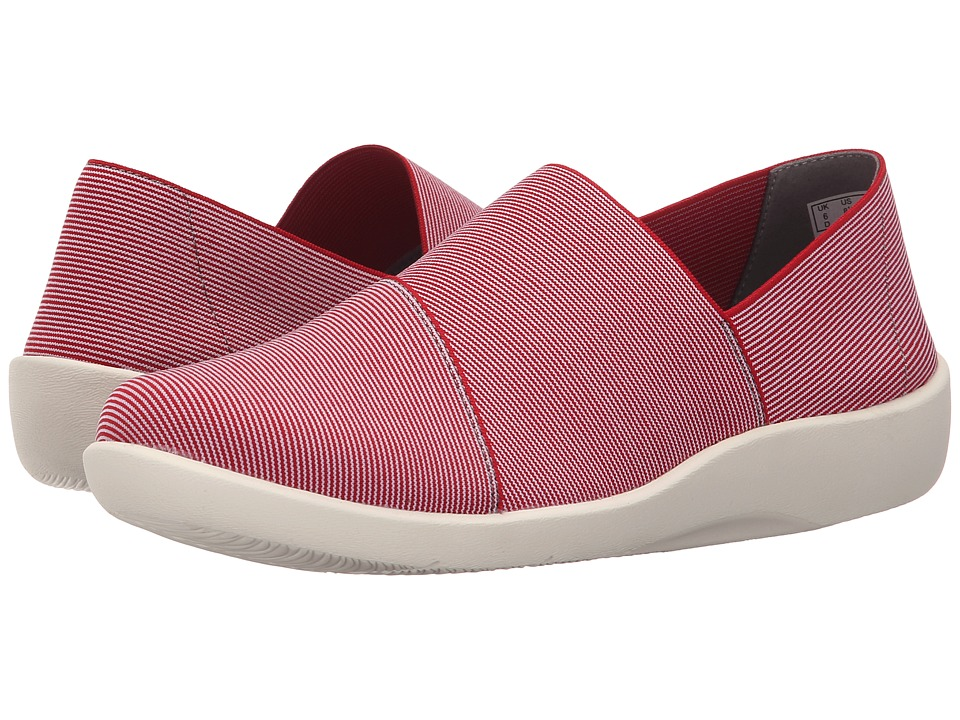 Clarks - Sillian Firn (Red Synthetic) Women