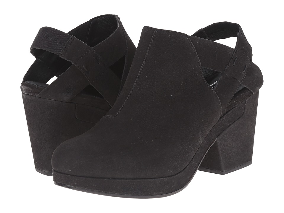 65d880e4357 ... 8 UPC 784239366709 product image for Eileen Fisher - Grip (Black Washed  Nubuck) Women s Clog ...