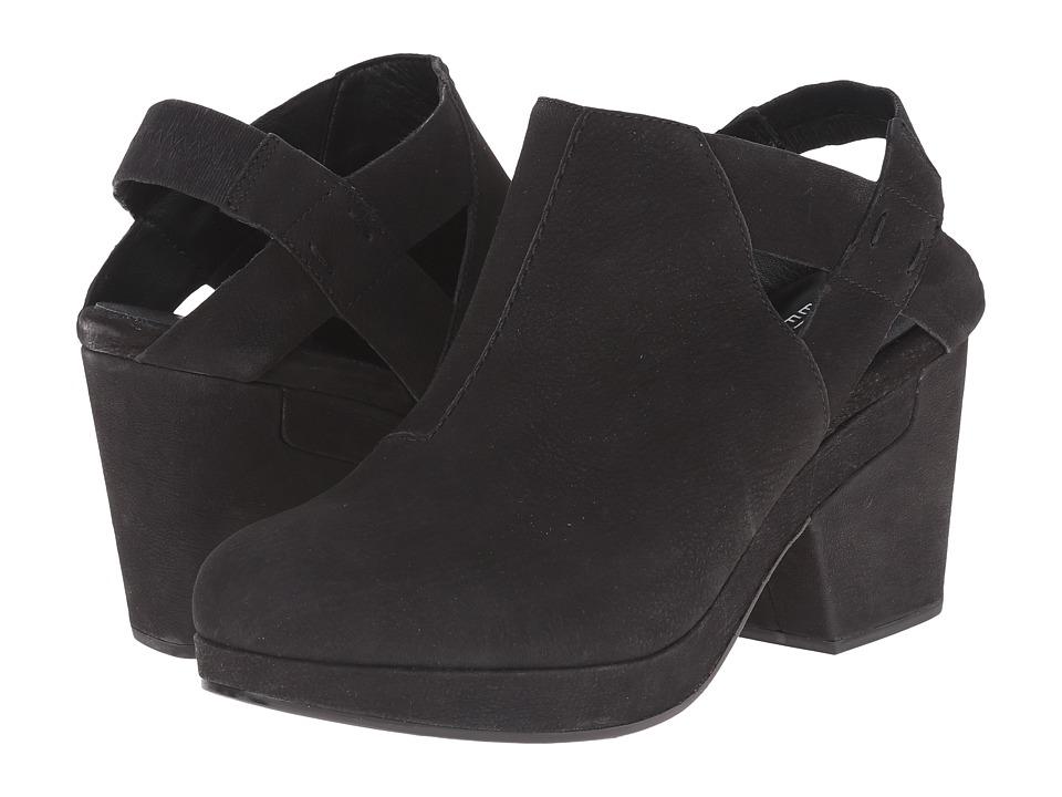 Eileen Fisher - Grip (Black Washed Nubuck) Women's Clog Shoes