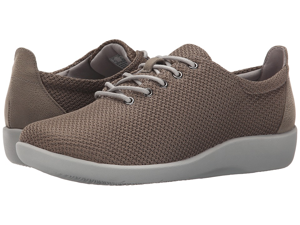 Clarks - Sillian Tino (Sage Synthetic) Women's Lace up casual Shoes
