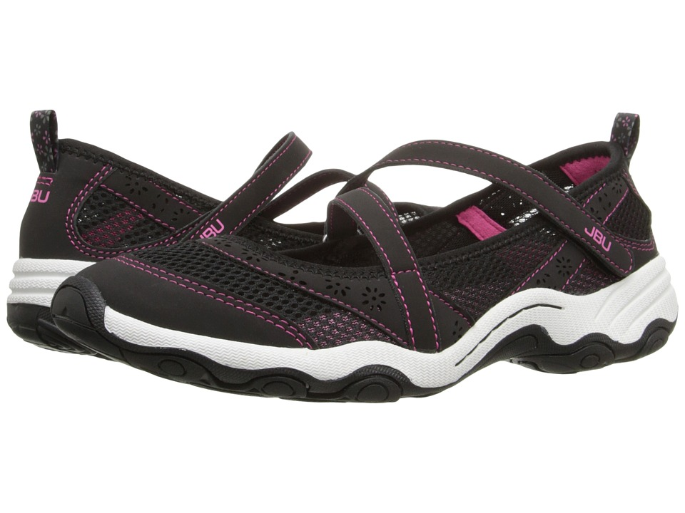 JBU - Belle (Black) Women's Slip on Shoes