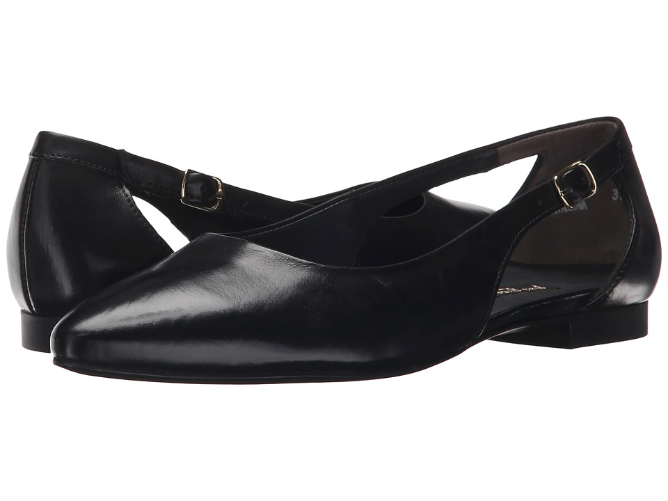 Paul Green - Beckett (Black Leather) Women's Flat Shoes