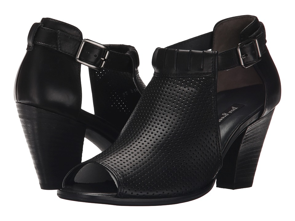 Paul Green - Collen (Black Leather) High Heels