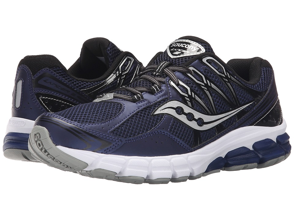 Saucony - Lancer 2 (Navy/Black) Men's Running Shoes