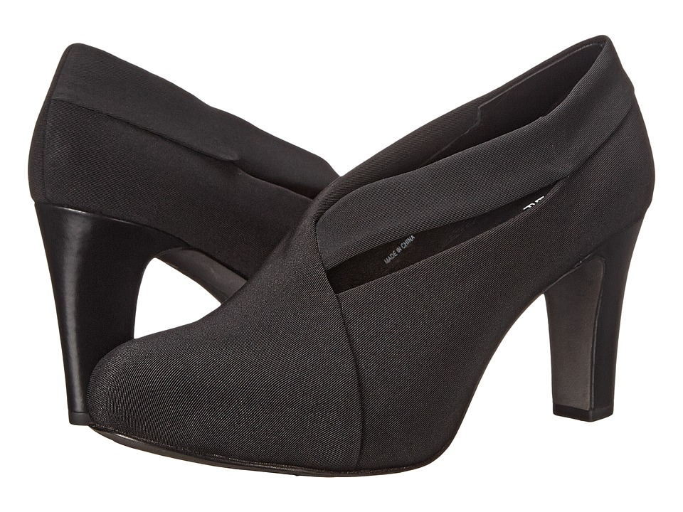 Eileen Fisher - Peek (Black Stretch Grosgrain) High Heels