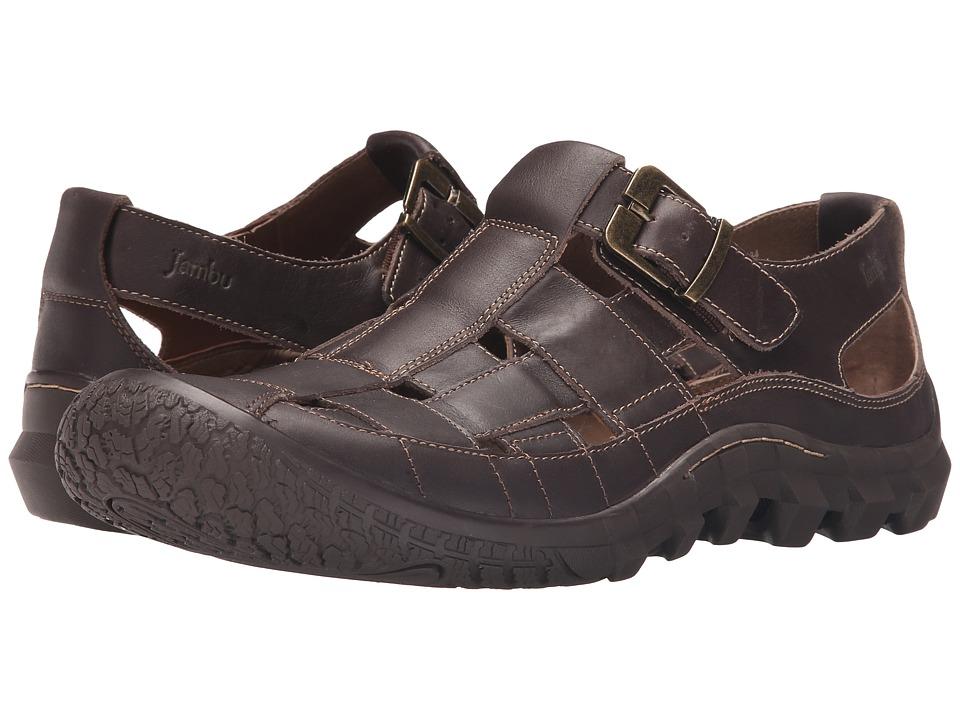 Jambu - Fairfax (Dark Brown) Men's Shoes