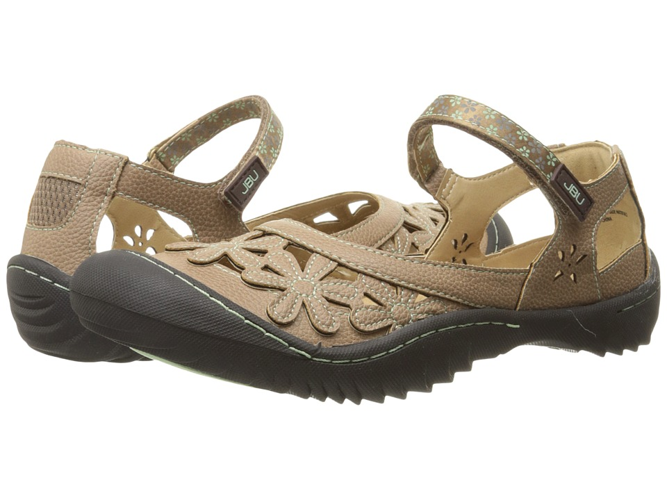 JBU - Wildflower Too (Brown) Women's Slip on Shoes