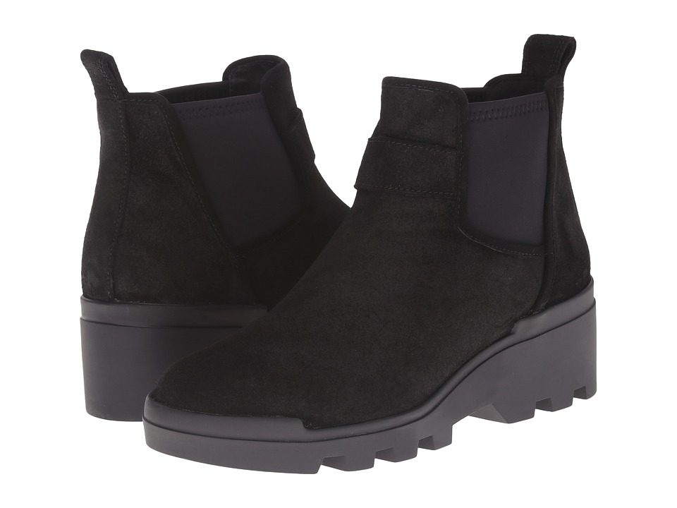 Eileen Fisher - Swish (Black Waterproof Suede) Women's Boots