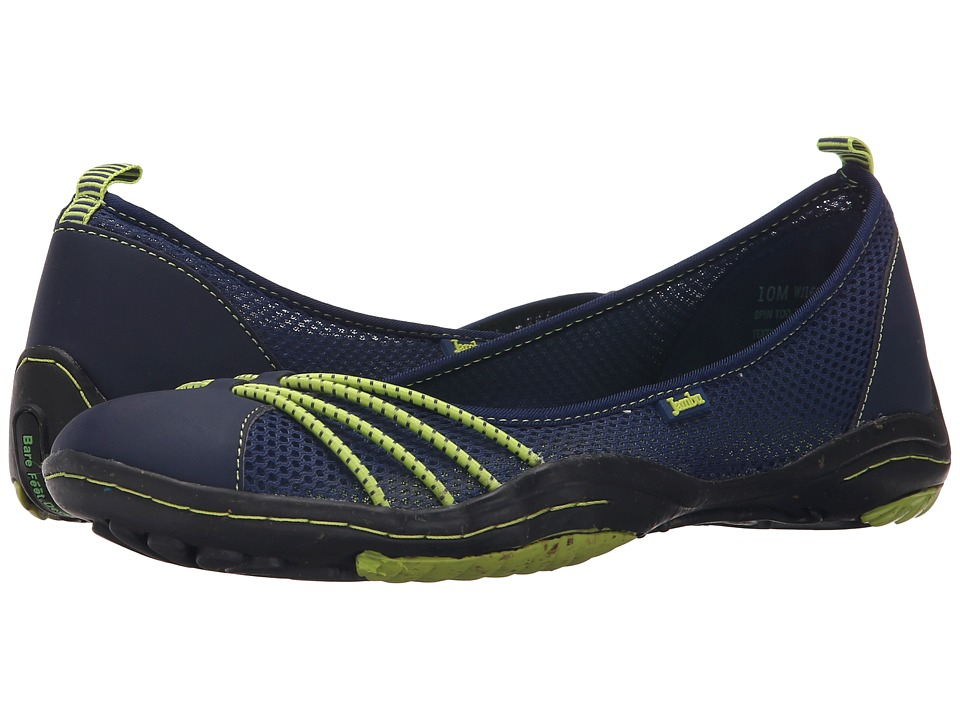 Jambu - Spin-Too (Navy/Kiwi) Women's Shoes
