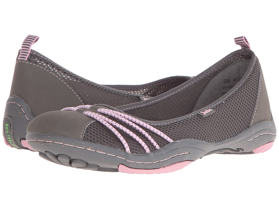 Jambu - Spin-Too (Charcoal/Cameo) Women's Shoes