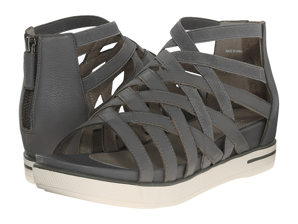 Eileen Fisher - Airy (Graphite Matte Washed Leather) Women's Sandals