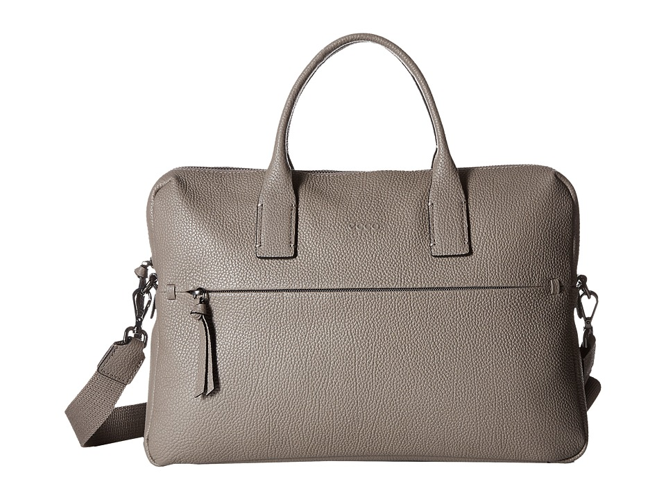 ECCO - SP Slim Briefcase (Moon Rock) Briefcase Bags