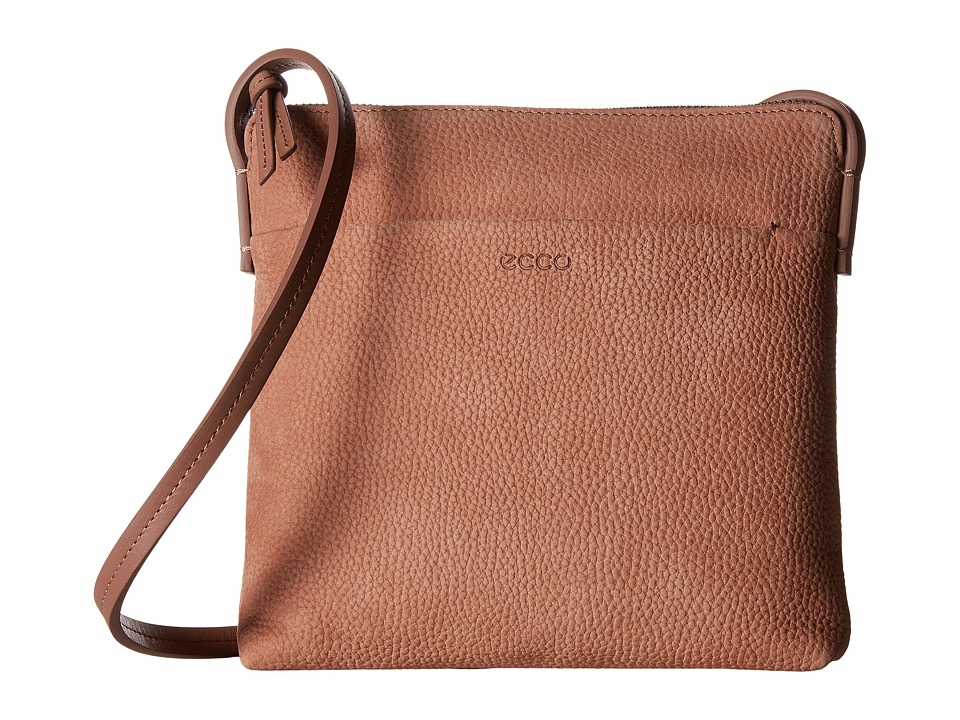ECCO - Handa Crossbody (Nougat) Cross Body Handbags