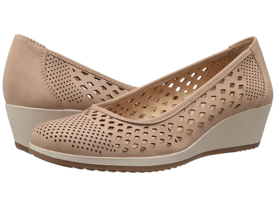 Naturalizer - Brelynn (Ginger Snap Nubuck) Women's Wedge Shoes