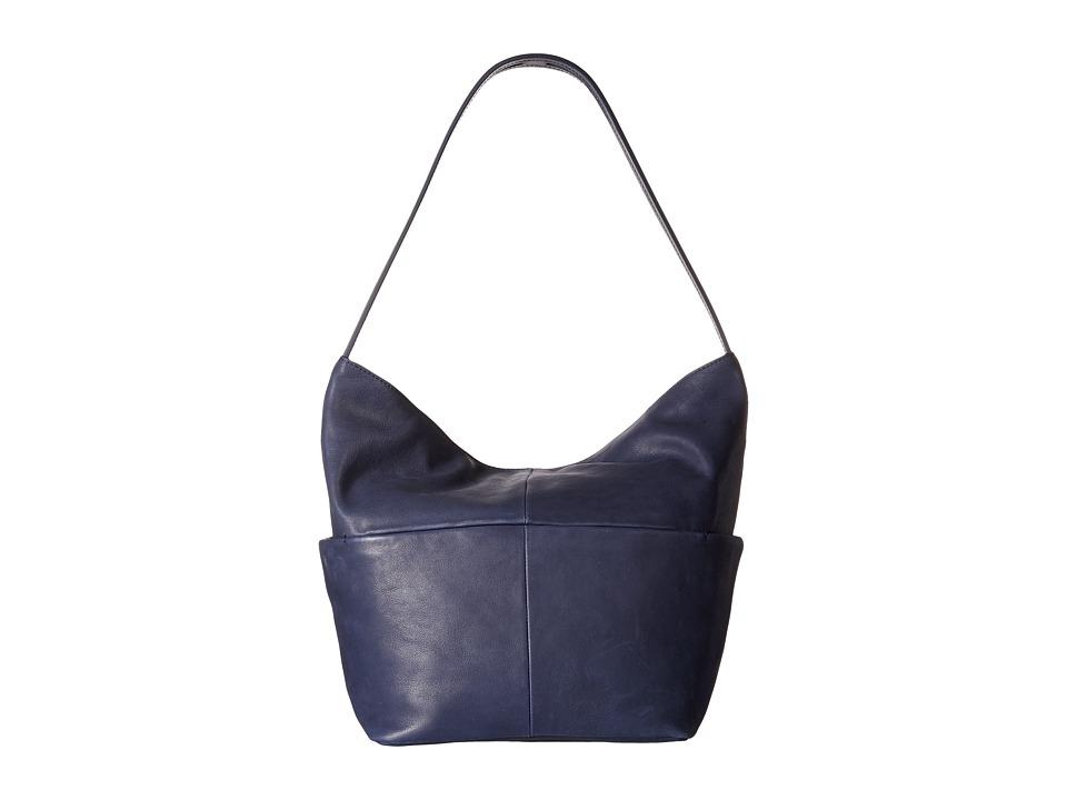 ECCO - Handa Hobo Bag (Sapphire) Hobo Handbags