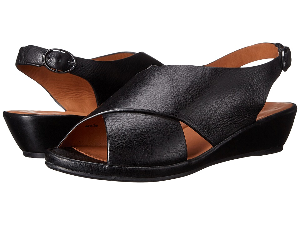 Gentle Souls - Lilian (Black) Women's Sandals