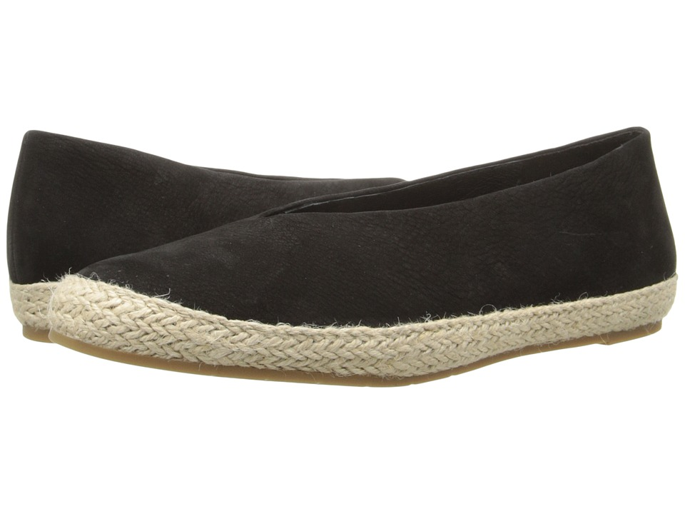Eileen Fisher - Tour (Black Tumbled Nubuck) Women's Flat Shoes