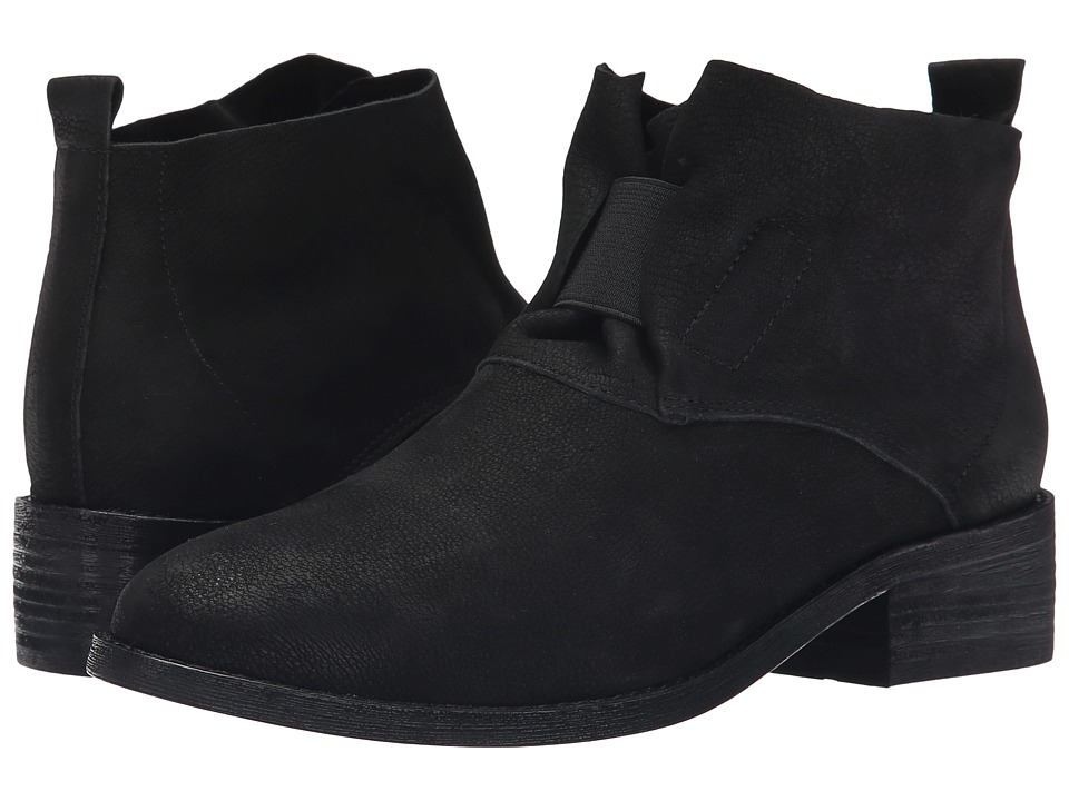 Eileen Fisher - Soul (Black Tumbled Nubuck) Women's Pull-on Boots