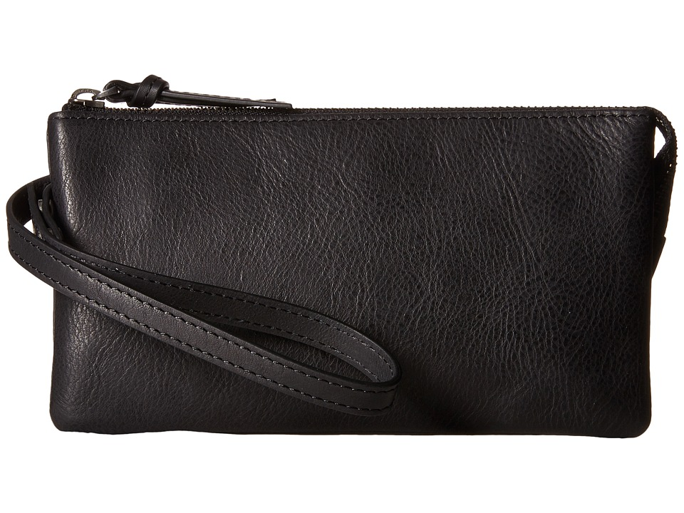 ECCO - Handa Clutch Wallet (Black) Wallet Handbags
