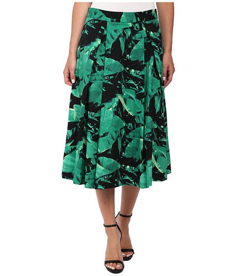 Vince Camuto - Island Palm Midi Skirt (Cactus) Women