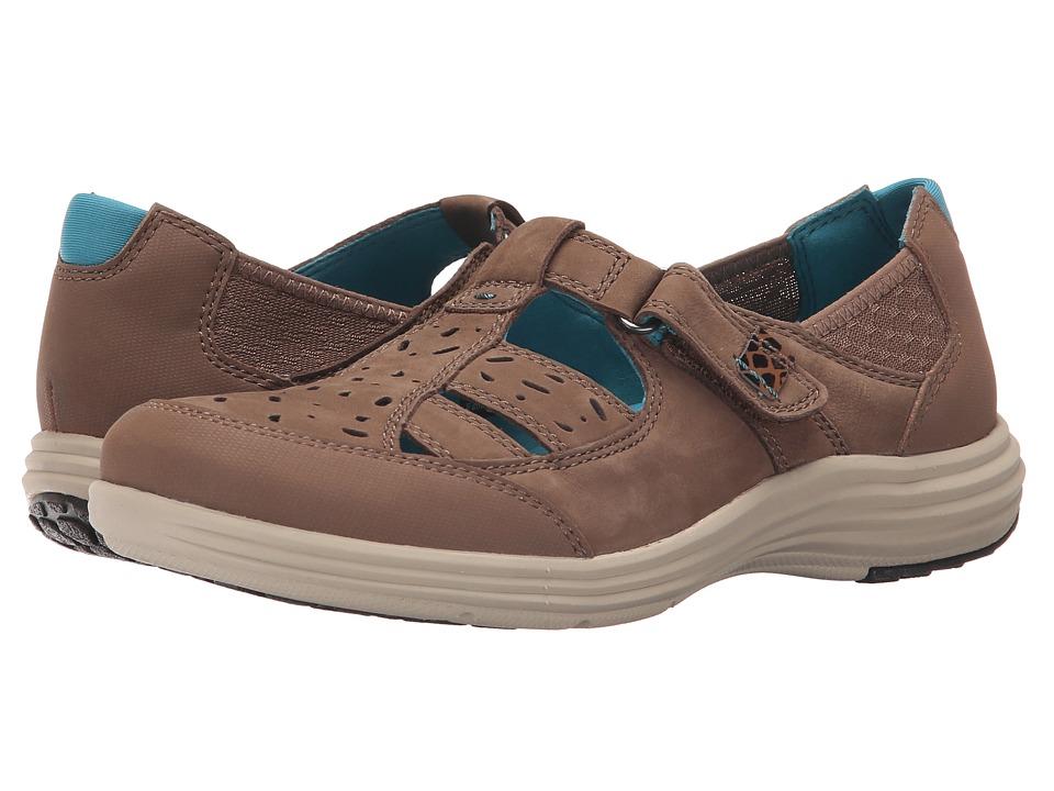Image of Aravon - Barbara-AR (Brown) Women's Slip on Shoes
