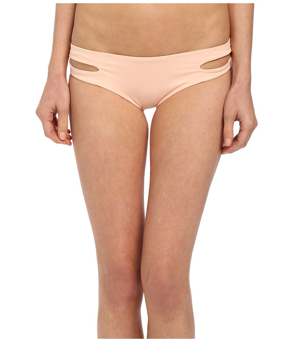 L*Space - Sensual Solids Estella Bottoms (Creamsicle) Women's Swimwear