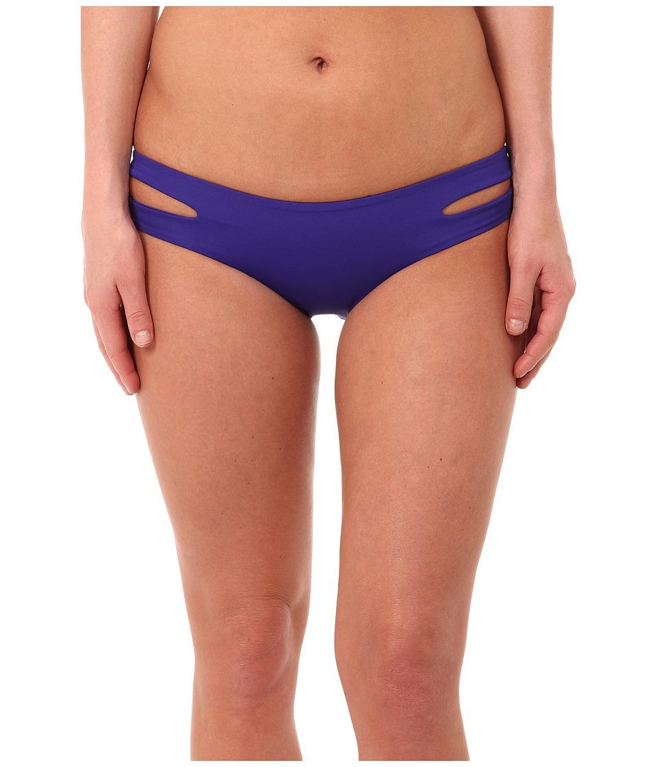 L*Space - Sensual Solids Estella Bottoms (Sapphire) Women's Swimwear
