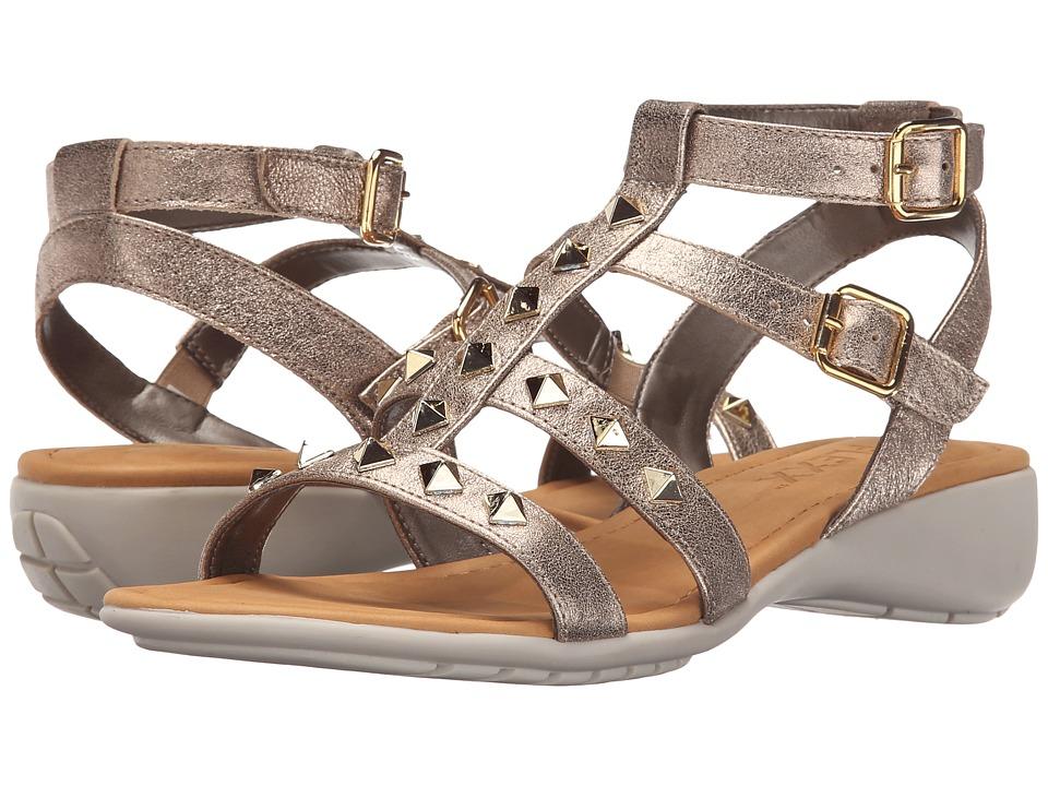 Womens The Flexx Glad I Came Sandals Gold Tris DSM96225